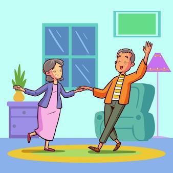 Active elderly people