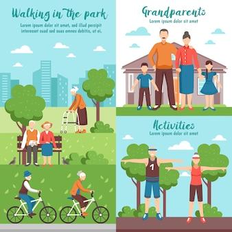 Активные композиции для бабушек и дедушек