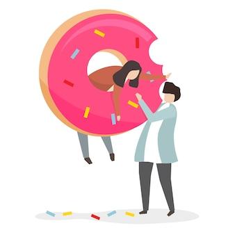 Пристрастие к сладостям и сахару