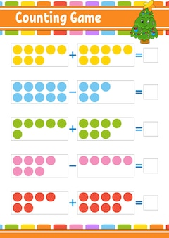 Addition and subtraction illustration