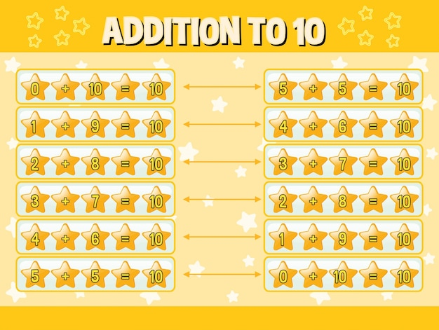 黄色い星で10に追加