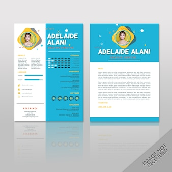Adelaide blue pop 2 pages resume