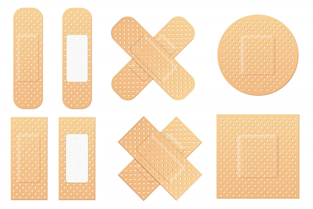 Adhesive bandage elastic medical plasters, patch.
