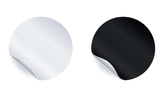 흰색 절연 접착 스티커