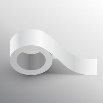 Condotto prendere template mockup adesivo