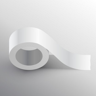 Adhesive tape, mockup