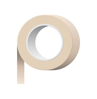 Adhesive tape. tools for education and work. stationery and office supply.