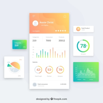 Dashboard Vectors, Photos and PSD files | Free Download
