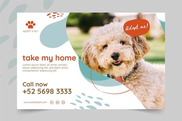 Adopt a pet banner