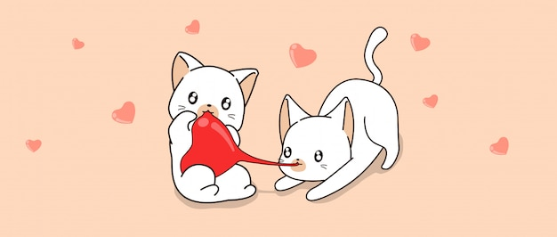 Adorable cats are poaching heart