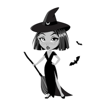 Adorable little witch.