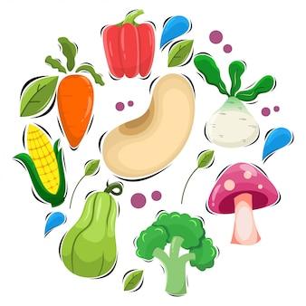 Adorable vegetable