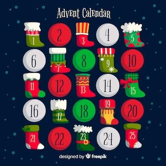 Приключения календаря носки и мячи
