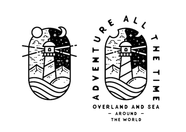 Adventure all the time around the world tattoo design