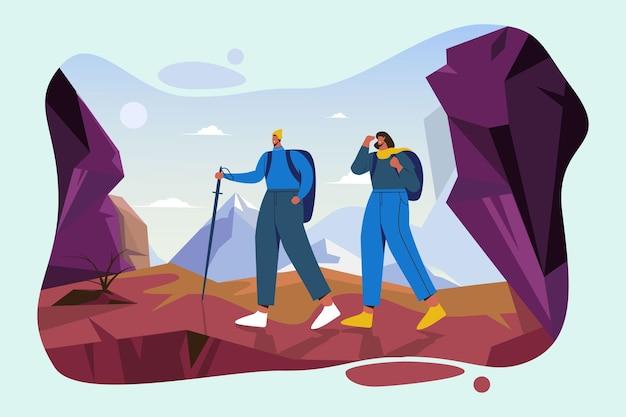 Adventure background