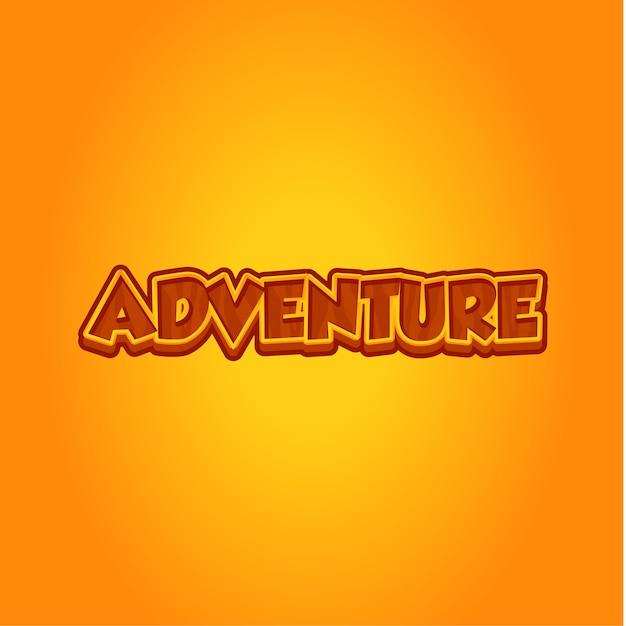 冒険の背景 Premiumベクター