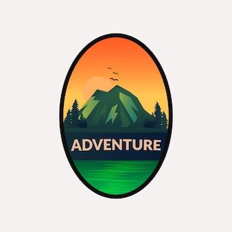 アドベンチャーバッジのロゴ