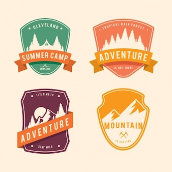 Adventure badges collection