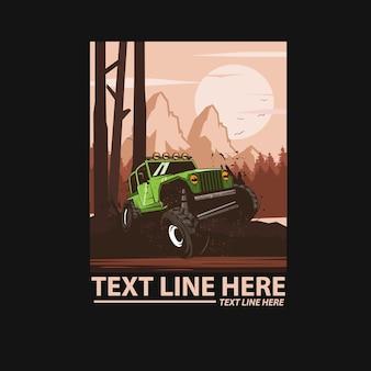 Adventure jeep car