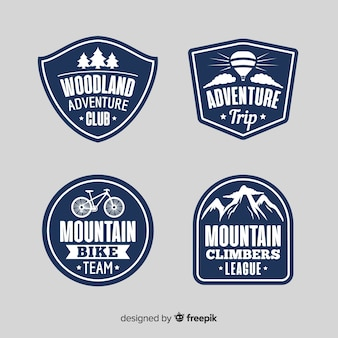 Adventure logo collection