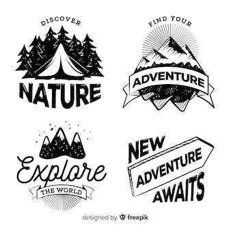 Adventure logo collection