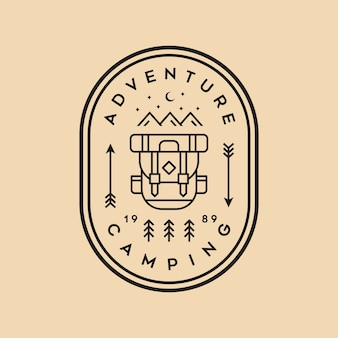 Adventure logo vintage