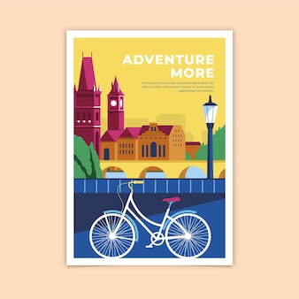 Adventure more colorful poster