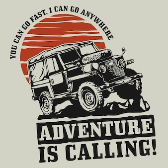 Adventure offroad car