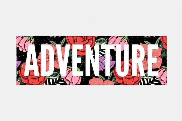 Adventure slogan