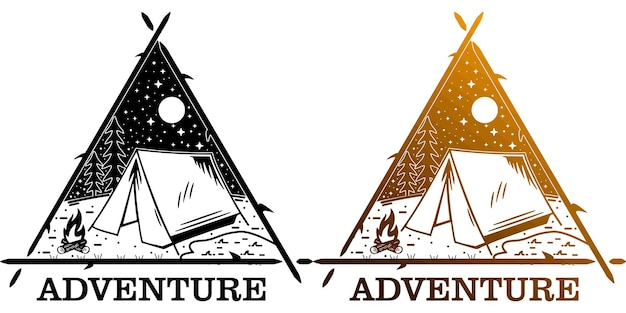 Adventure with triangle