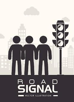 Advertising design, vector illustration.