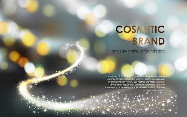Advertising poster of a colorstay foundation