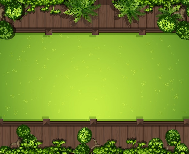 Aerial green grass background