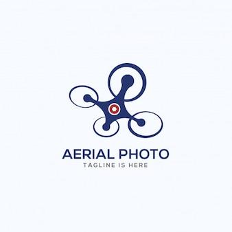 Aerial photography logo