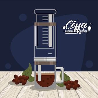 エアロプレスコーヒーの淹れ方