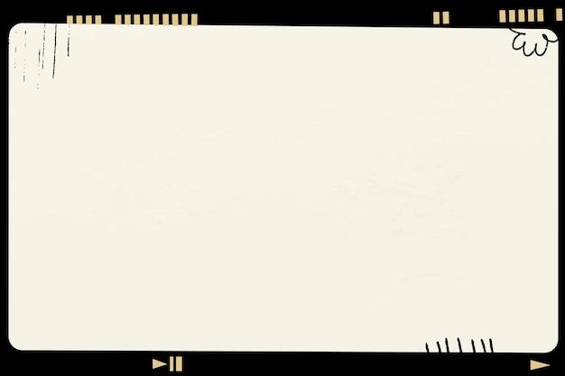 美的アナログフィルムフレームベクトルビンテージスタイルの写真
