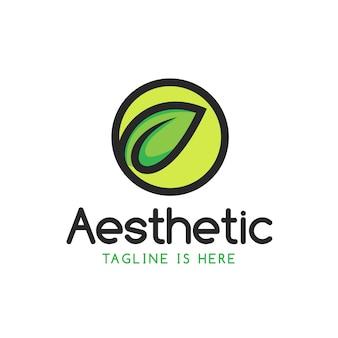 Aesthetic logo