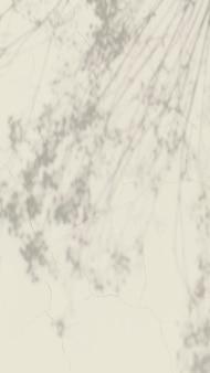 Vettore estetico del fondo della carta da parati del telefono, ombra della foglia con luce naturale