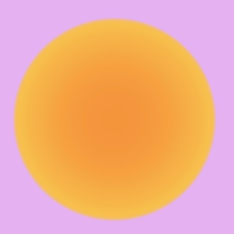 핑크와 오렌지 미적 웨이브 그라데이션 배경 벡터