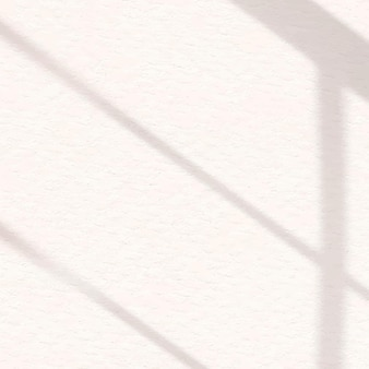 Aesthetic window shadow off white  on texture background