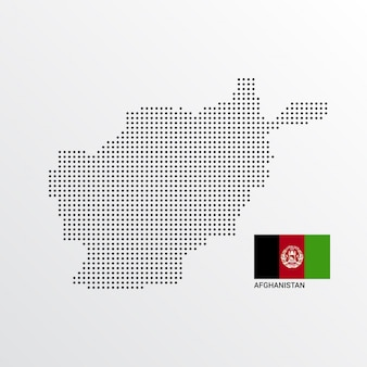 Афганистан дизайн карты