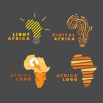 아프리카지도 로고