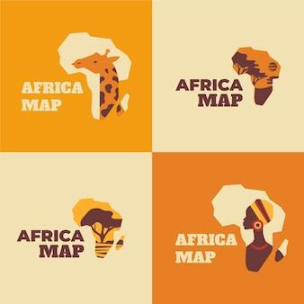 Логотип карты африки
