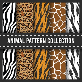 African animal print seamless pattern