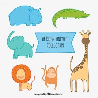 Коллекция африканских животных