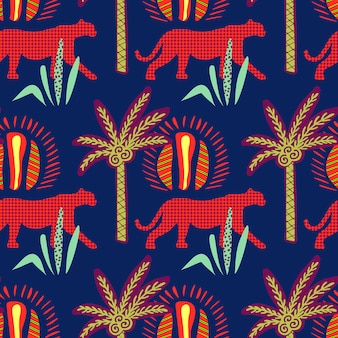 African seamless pattern.