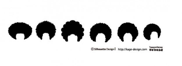 Афро волосы