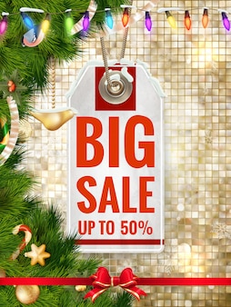 After christmas sale.