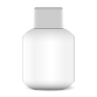 Aftershave lotion or balm bottle illustration