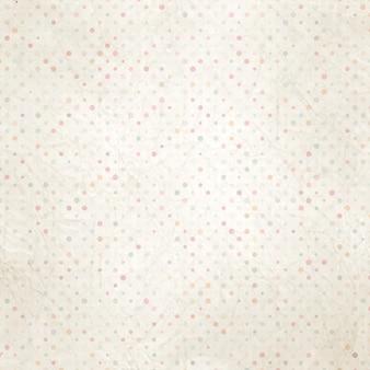 땡땡이 무늬가있는 오래되고 낡은 종이.